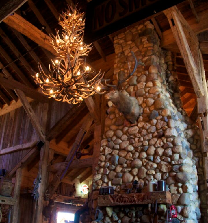 Fireplace Moose